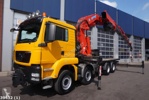 MAN TGS 35.480 truck used flatbed
