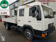 Camión MAN LE 8.150 7 Sitze Meiller 2x AHK 1.Hand Tempomat volquete usado