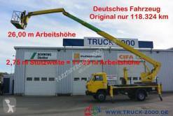 Camion piattaforma aerea MAN Wumag WT 250 Arbeitsbühne 25m seitl. Auslage 16m