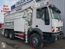 ciężarówka Iveco 380 E 38 6x4 36m Betonpumpe 5 Mast 125mm Rohre