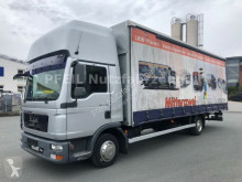 MAN tarp truck TGL 8.180 Tautliner- Top Sleeper-Standheizung