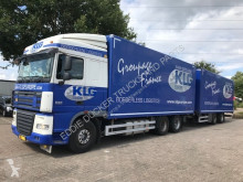 DAF box trailer truck XF
