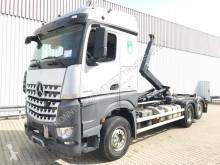 Mercedes hook arm system truck Arocs 2545 L 6x2 2545 L 6x2, Hiab Multilift, StreamSpace, Bi-Xenon