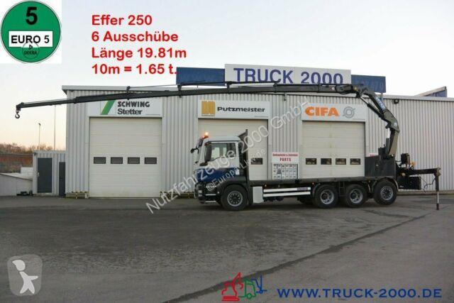 Voir les photos Camion MAN TGS 35.400 8x4 Effer 250 6S 19.81m / 10m = 1.65t