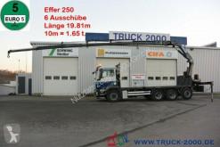 MAN TGS 35.400 8x4 Effer 250 6S 19.81m / 10m = 1.65t LKW gebrauchter Pritsche Bracken/Spriegel