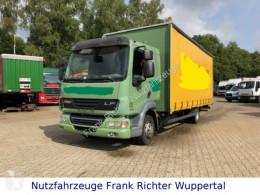 Camión lona corredera (tautliner) usado DAF LF 45.220,gr.Haus,1.Hd,D-Fzg.HU01 Zyl.