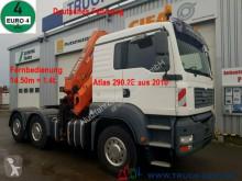 Camión MAN TGA 26.430 6x4 Atlas 290.2E Kran (2010) 16m=1.2t caja abierta usado