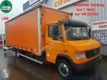 camión Mercedes 816 D Vario Schiebeplanen LBW 3 Sitze nur 146TKM