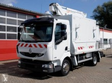 Камион вишка съчленена телескопична втора употреба Renault Midlum Arbeitsbühne Renault Midlum 180.08
