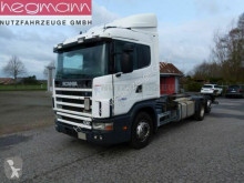 Camión chasis Scania 124 420 6x2, Euro 3, Retarder, Opticruise, dE