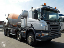 Scania P420-8X4-AP-WECHSELSYSTEM-SEPA truck used concrete mixer