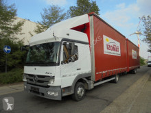 Mercedes Atego 822 trailer truck used tautliner