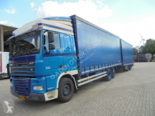 DAF XF105 trailer truck used tautliner