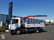 Ciężarówka wywrotka trójstronny wyładunek Mercedes Atego 818 KK Kipper+Kran+Funk+Greifersteuer