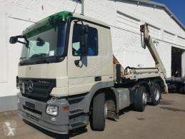 Kamión vozidlo s hákovým nosičom kontajnerov Mercedes Actros MPII 2544 L/6x2/4 MP II 2544L/6x2/4 Lenkachse, Ret-Kli Meiller Tele AK 16 NT