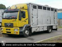 Kamyon at taşıma vanı ikinci el araç MAN 15.220 Menke Einstock