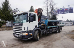 camion Scania 114 G 6x2 PALFINGER PK 42502 CRAN KRAN