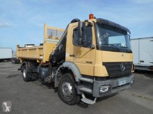 Used two-way side tipper truck Mercedes Axor 1828 K