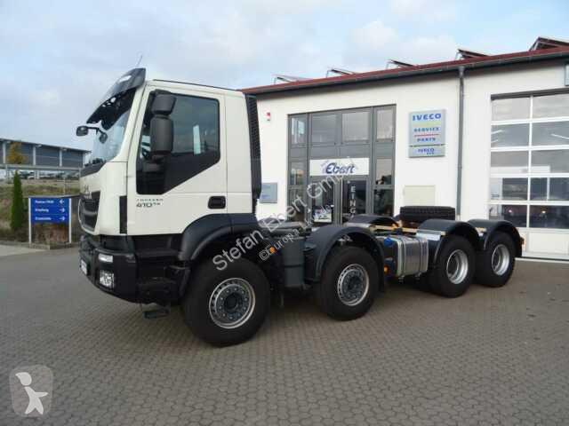 Voir les photos Camion Iveco Trakker 410 8x4 Fahrgestell-Betonmischer Euro 6