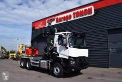 Kamión hákový nosič kontajnerov Renault K 430 / APPROVISIONNEMENT VEHICULES NEUFS SOUS MANDAT / LOCATION