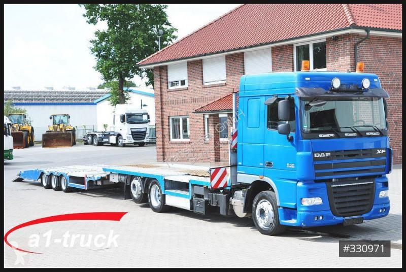 Voir les photos Ensemble routier DAF XF 410 LKW Trecker Transporter FVG Anhänger
