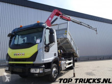 camion Iveco ML100-210, 7 tm HMF kraan, Crane, Kran, Kipper, Tipper