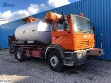 Camión Renault Gamme G 280 Bitum spreader, Acmar 8000 liter, Isolated, Manual, Steel suspension cisterna usado
