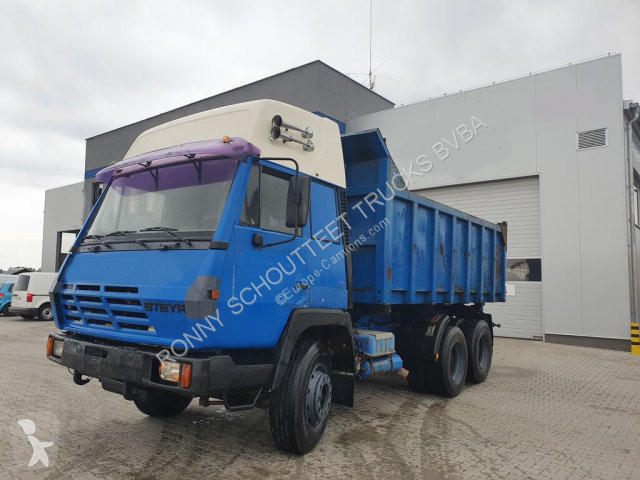 View images Steyr 1491 1491 6x4 truck