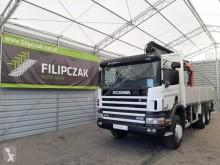 Camion Scania C 114C plateau ridelles occasion