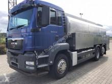 Camión cisterna alimentario MAN TGS 26.440 Milchsammler/gelenkte Nachlaufachse