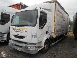 Renault Midlum 180 LKW gebrauchter Pritsche und Plane