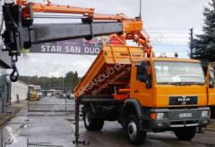 camion MAN 18.284 4x4 ATLAS 155.1 A4 Cran Kran