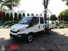 Camión caja abierta Iveco DAILY35S11 SKRZYNIA DOKA HDS 7 MIEJSC KLIMATYZACJA [ 6799 ]