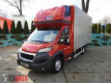 ciężarówka Peugeot BOXERPLANDEKA 10 PALET KLIMA WEBASTO TEMPOMAT ADBLUE, EURO6, AS