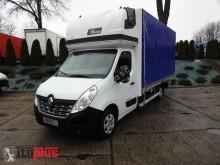 camion Renault MASTERPLANDEKA 10 PALET KLIMA WEBASTO TEMPOMAT PNEUMATYKA [ 851