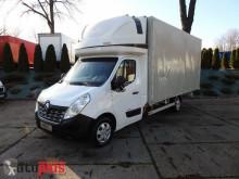 ciężarówka Renault MASTERPLANDEKA 10 PALET KLIMA WEBASTO TEMPOMAT SERWIS ASO [ 774