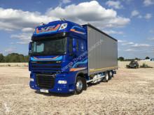 Camion rideaux coulissants (plsc) occasion DAF XF 105.460 6x2 plandeka / firanka SUPER STAN !