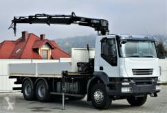 camion Iveco Stralis 360 * Pritsche 6,00m KRAN*6x4 Topzustand