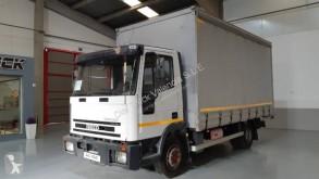 Iveco ponyvával felszerelt plató teherautó Eurocargo 90 E 17 K tector