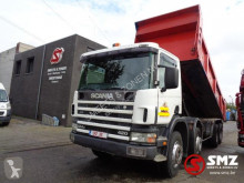 camion Scania 124 420 Grobe achse/und blatt Top