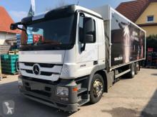 Camión caja abierta transporte de bebidas Mercedes ACTROS 2536 Schwenkwand Getränkekoffer