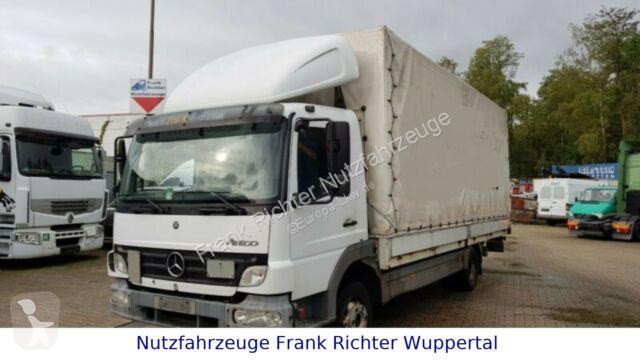 Voir les photos Camion Mercedes 818/1218 Atego,LBW,Kamera,Spoiler,Guter Zustand!