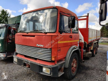 Used three-way side tipper truck Iveco Turbo