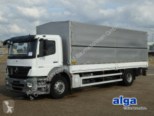 Mercedes 1829 Axor, 7.400mm lang, 2to. LBW, Klima, Luft truck used tarp