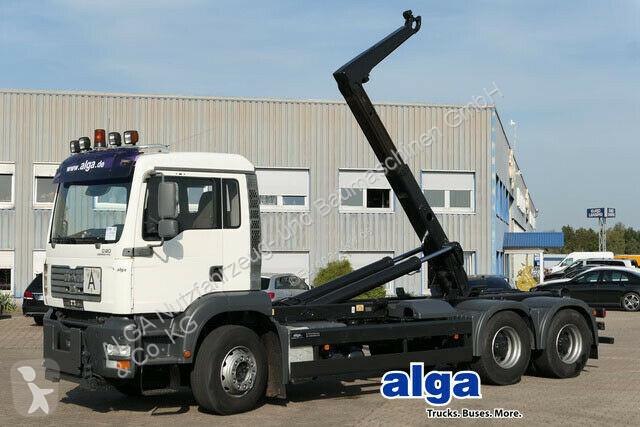 Voir les photos Camion MAN 26.430 TGA 6x4, Meiller RK20.65, Klima, Schalter