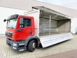 Vrachtwagen bakwagen MAN TGM 26.340 6x2-4 LL 26.340 6x2-4 LL Getränkewagen, Lenk-/Liftachse, LBW BÄR