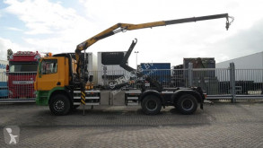 Camion Ginaf X 3232 S/380 HOOKARM SYSTEM WITH HMF CRANE plateau occasion