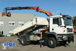 Camion tri-benne MAN 18.330 TGM/4x4/Allrad/Kran Palfinger PK 8000/AHK