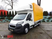 ciężarówka Peugeot BOXERPLANDEKA 10 PALET WEBASTO KLIMA TEMPOMAT PNEUMATYKA LEDY A
