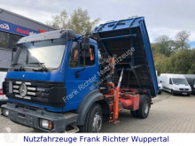 Mercedes 1824 Kipper, AK 100.1,grünePl.AT-Motor erst 214T truck used tipper